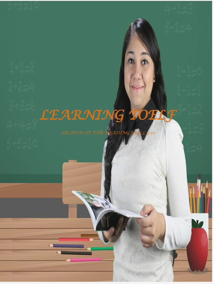 LEARNING   TOEFL LEARNING TOELF