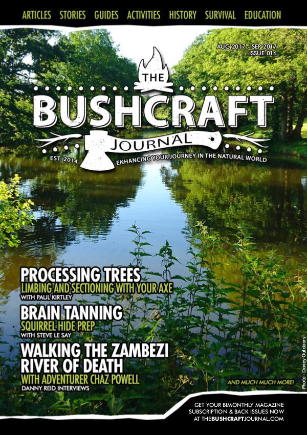 The Bushcraft Journal Magazine Issue 16