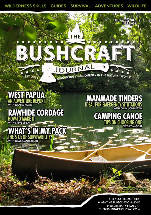 The Bushcraft Journal Magazine Issue 22