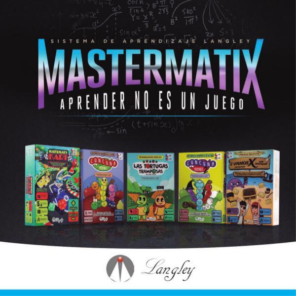 Catálogo MastermatiX 1