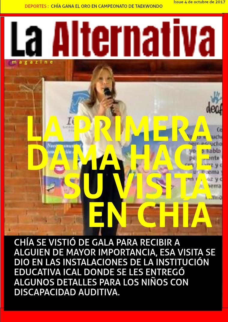 La Alternativa 1ra edición, octubre de 2017