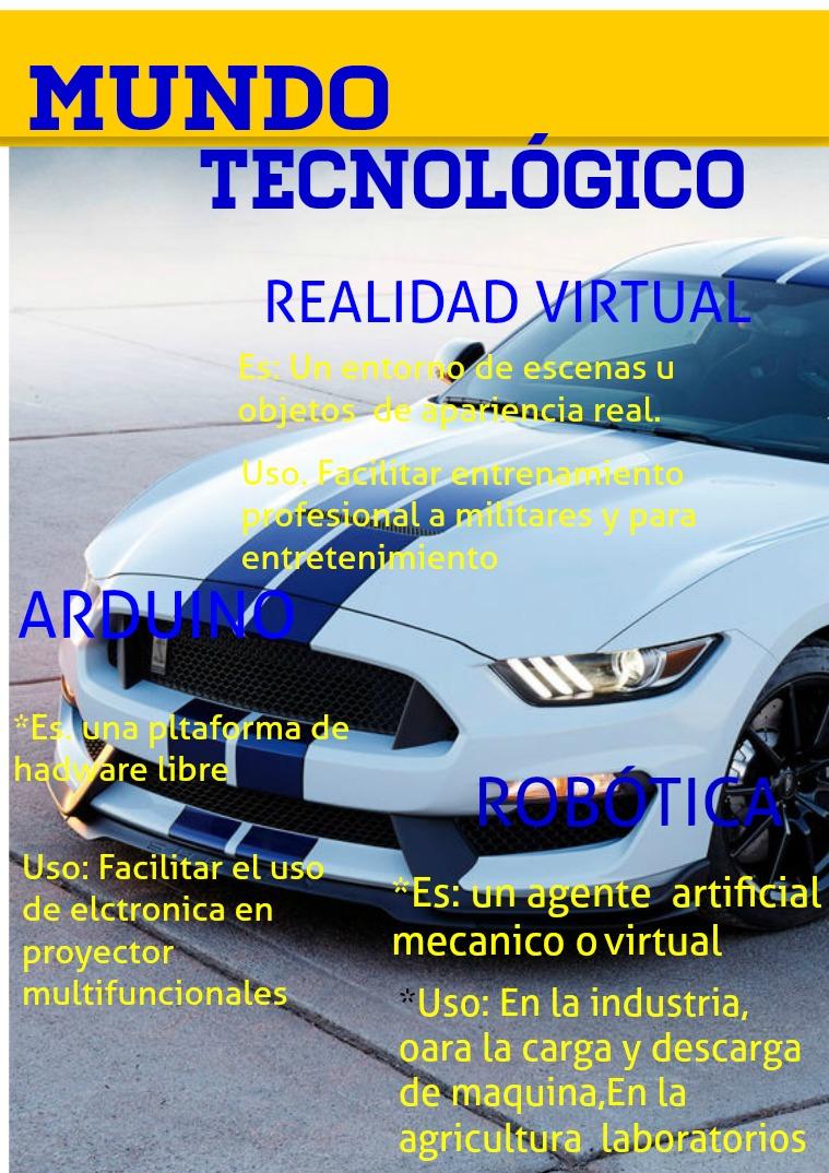 Mundo Tecnologico SECUNDARIA