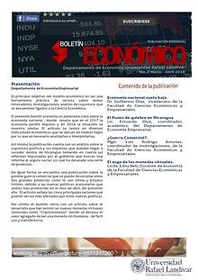 Boletín Económico ( Departamento de Economía) URL