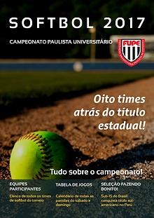 Campeonato paulista universitário de softbol 2017