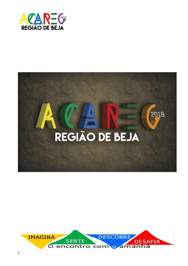 My first Magazine teste ACAREG 2018 - Projeto pedagógico