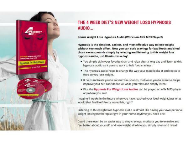 The 4 Week Diet System Brian Flatt PDF Book Download 4 Week Diet Reviews