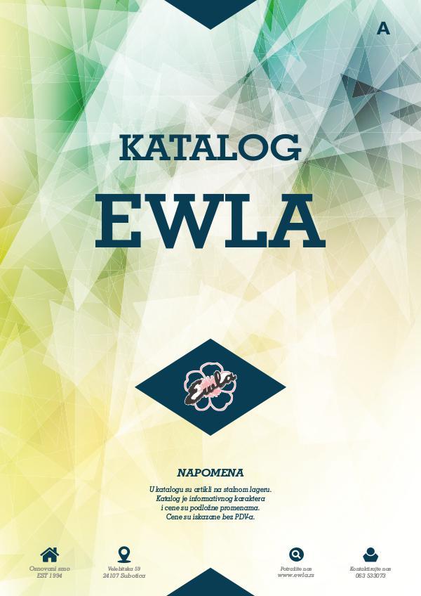 Ewla Katalog 2017 KATALOG 2017 SPOJENO