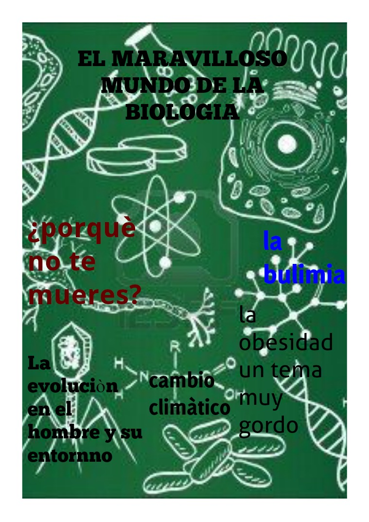 el maravilloso mundo de la biologia de la biologia