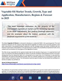 Market Share's Vegetable Oil Market Trends, Growth, Type 2025