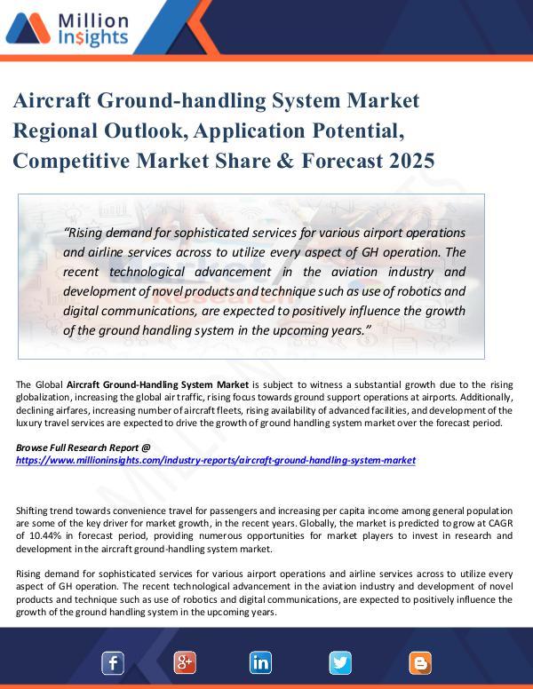 Aircraft Ground-handling System Market Regional