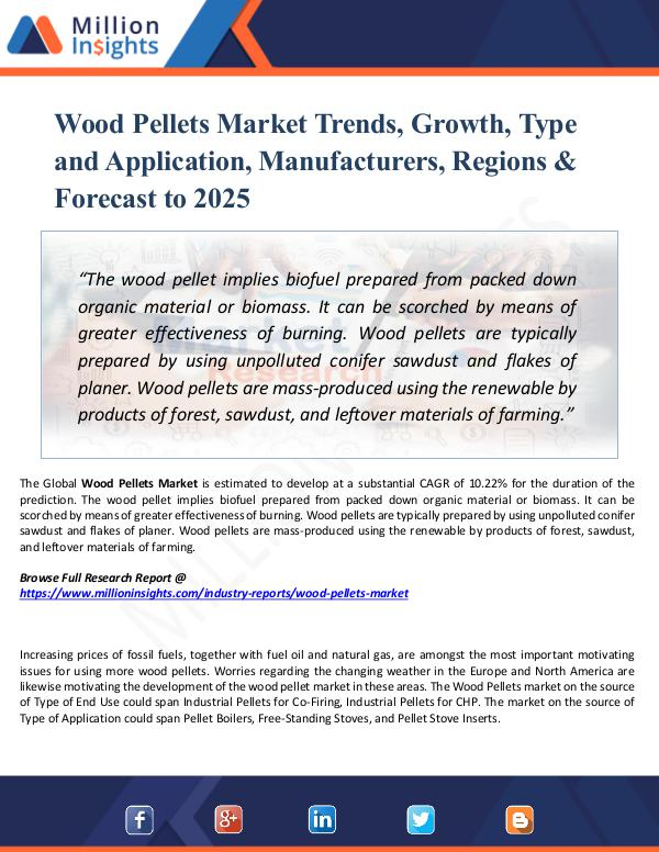 Wood Pellets Market Trends, Growth, Type 2025