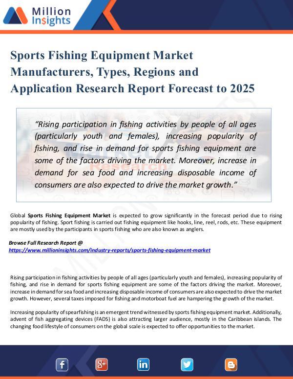 Sports Fishing Equipment Market Manufacturers,