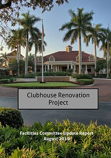 Clubhouse Renovation Project