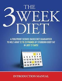 The 3 Week Diet Free Report