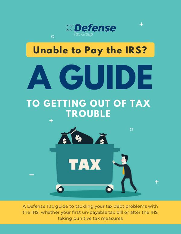 Tax Relief Help Guide Defense Tax Group Guide