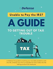 Tax Relief Help Guide
