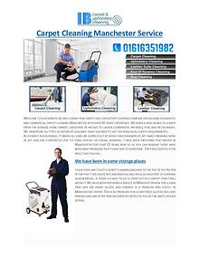 Carpet Cleaning Manchester Service