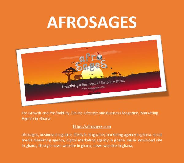 For Growth and Profitability! | AFROSAGES AFROSAGES