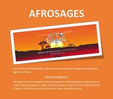 For Growth and Profitability! | AFROSAGES