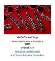 Lisa's Clarinet Shop