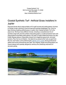 Jupiter Synthetic Turf