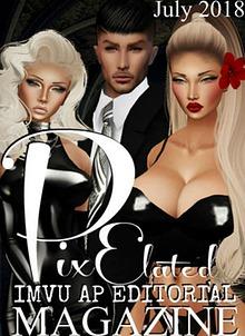 Pixelated Editorial Magazine