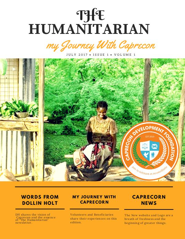 The Humanitarian new newsletter