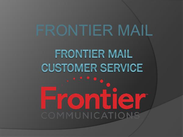 Frontier email customer care service frontier mail customer service