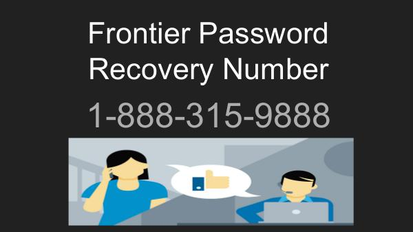 Frontier email password reset 1-888-315-9888 | recovery phone number Frontier email password reset