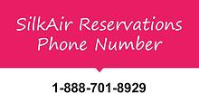silkair reservation number 1-888-206-5328