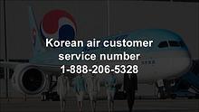 Korean air customer service number 1-888-206-5328
