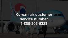 Korean air customer service number 1-888-206-5328
