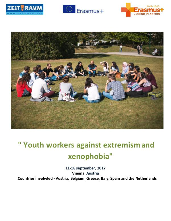 Zeit Raum Youth workers against extremism and xenophobia