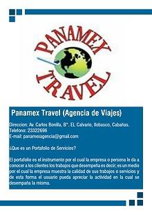Panamex Travel!