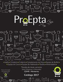 Catálogo ProEpta The Store 2017