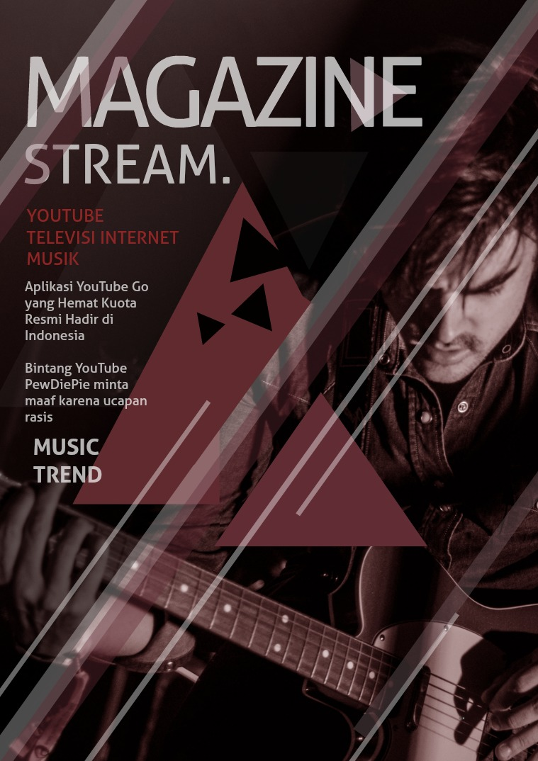 STREAM. MAGAZINE yotube dan televisi internet