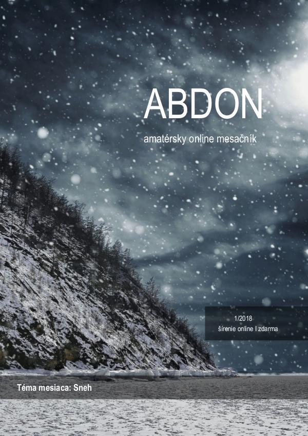 Abdon 1/2018 Abdon 1/2018