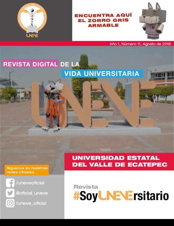 Revista #SoyUNEVErsitario Número 11