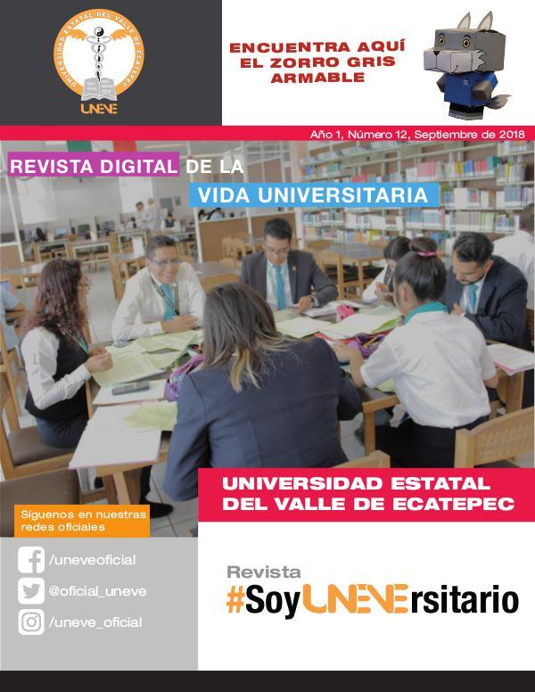 #SoyUNEVErsitario Revista #SoyUNEVErsitario Número 12