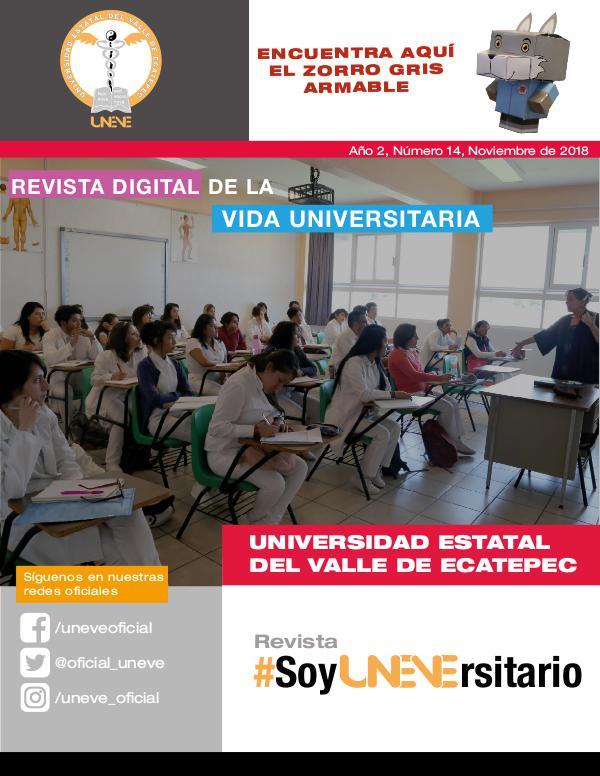 #SoyUNEVErsitario Revista #SoyUNEVErsitario Número 14
