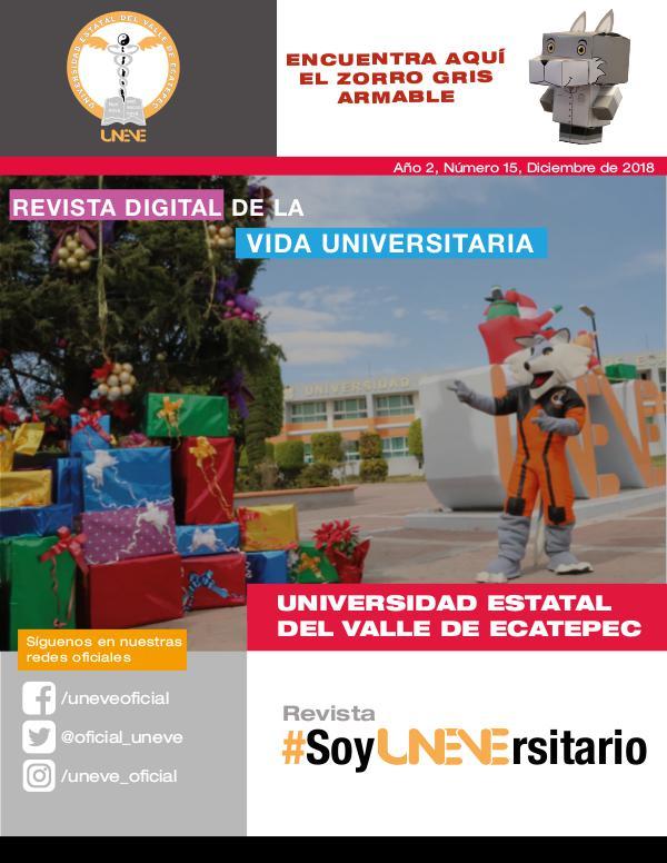 #SoyUNEVErsitario Revista #SoyUNEVErsitario Número 15