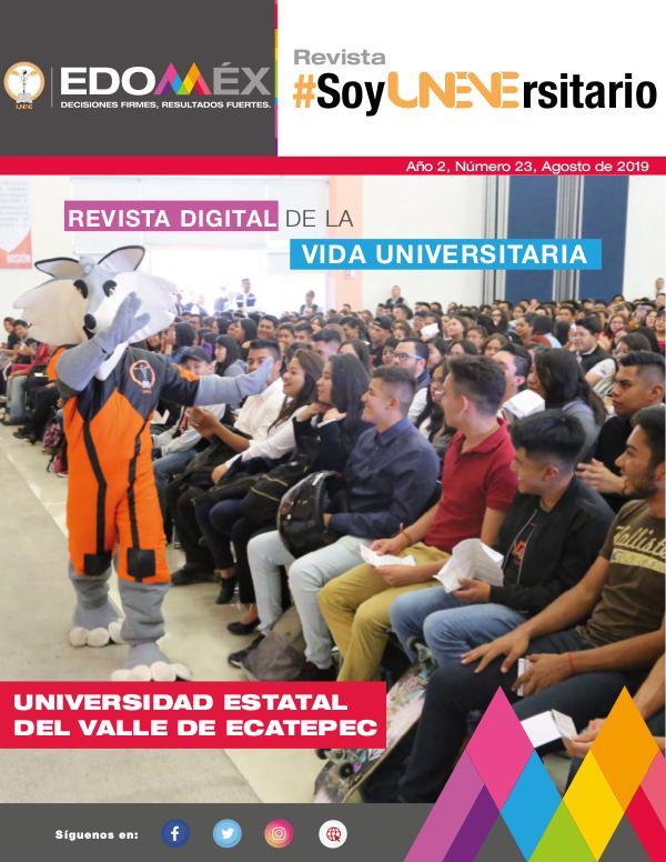 #SoyUNEVErsitario Revista #SoyUNEVErsitario Número 23