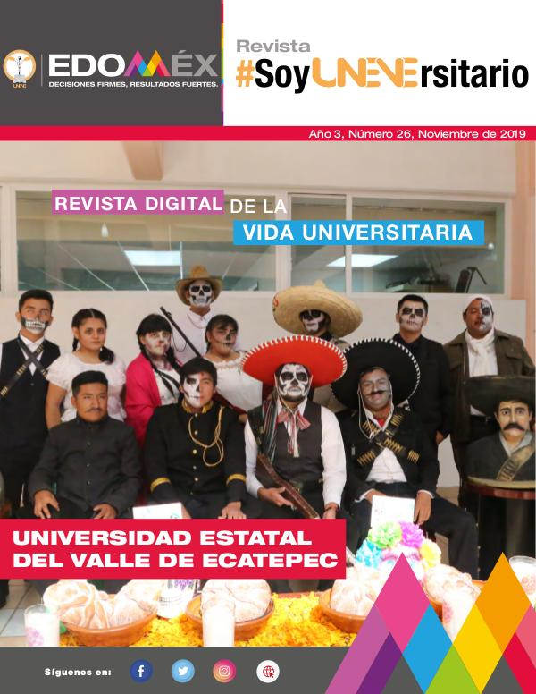 #SoyUNEVErsitario Revista #SoyUNEVErsitario Número 26