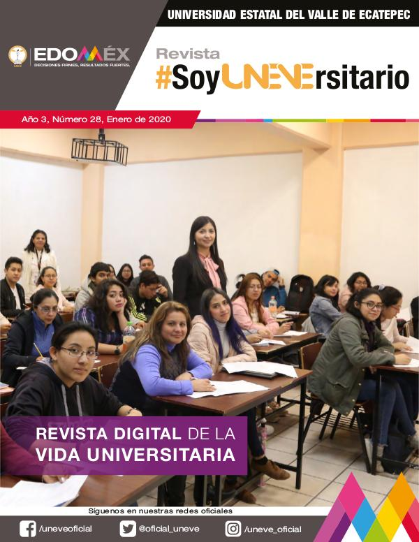 #SoyUNEVErsitario Revista #SoyUNEVErsitario Número 28
