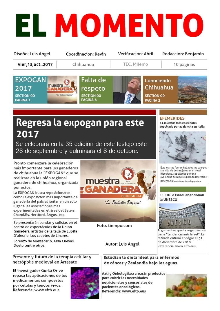 Periodico 1era edicion