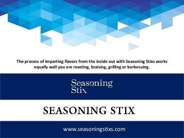 Seasoning Stixs Seasoning Stix