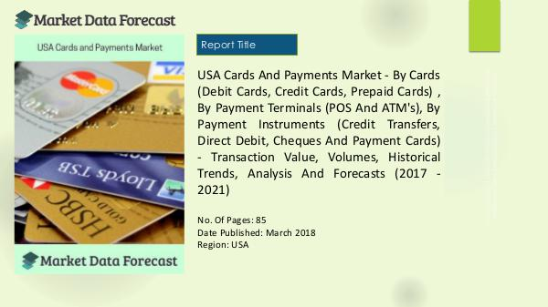 USA Cards and Payments Market Analysis, By Credit Transfers to 2021 1