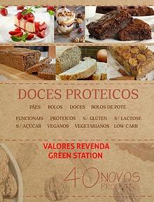 doces proteicos CARDÁPIO REVENDA