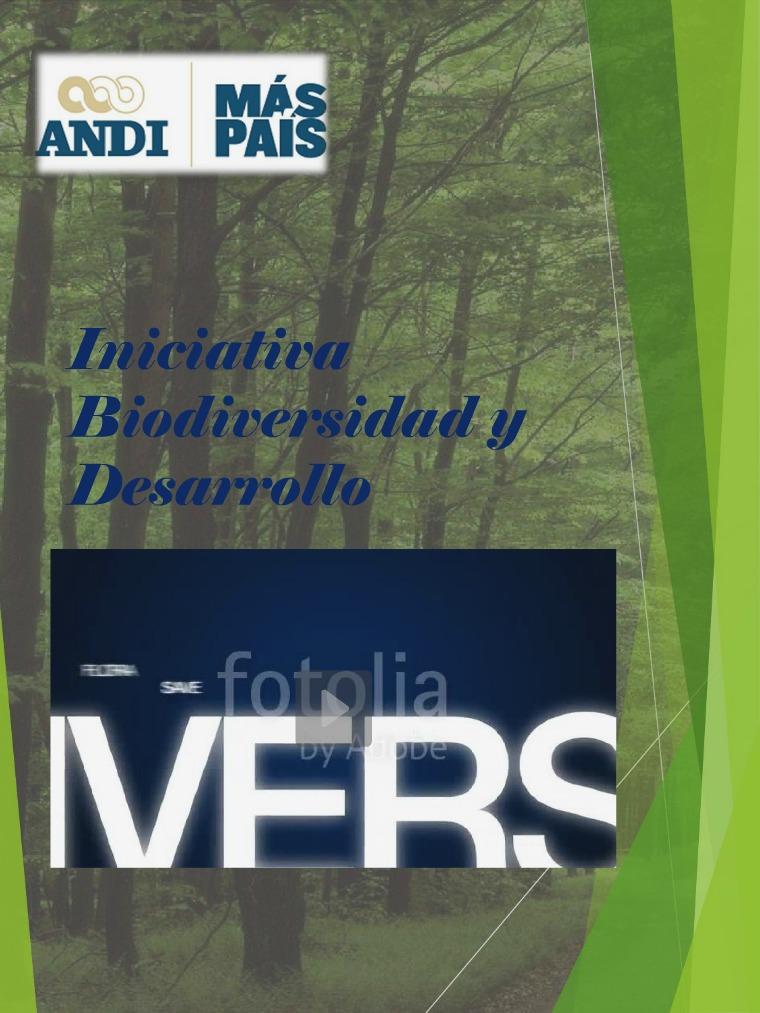 iniciativa Biodiversidad y Desarrollo iniciativa para la pagina