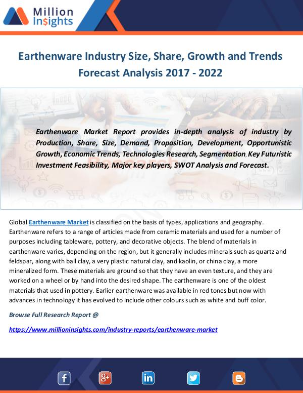 Industry and News Earthenware Industry